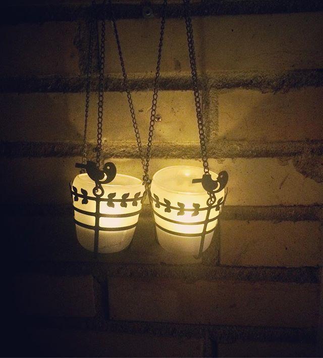- Pendant tealight holders - www.jettefroelich.dk #pendanttealightholder #gardendecor #garden #jettefrölich #jettefroelich #jettefrölichdesign #jettefroelichdesign #design #danishdesign #scandinaviandesign #gardendesign