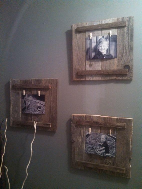 wooden pallet frame by NurseAshleyCrafts on Etsy, $15.00