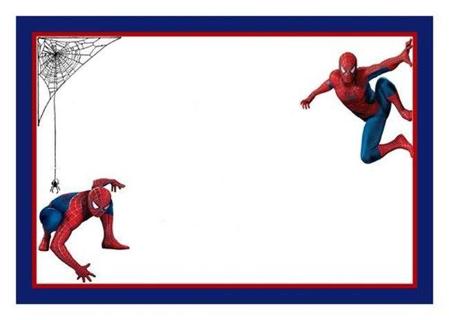 Spiderman Free Printable Invitation Template | Invitations Online