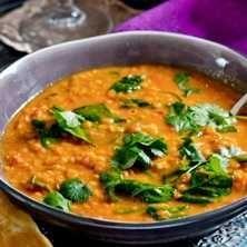 Fantastisk och enkel indisk linssoppa!
