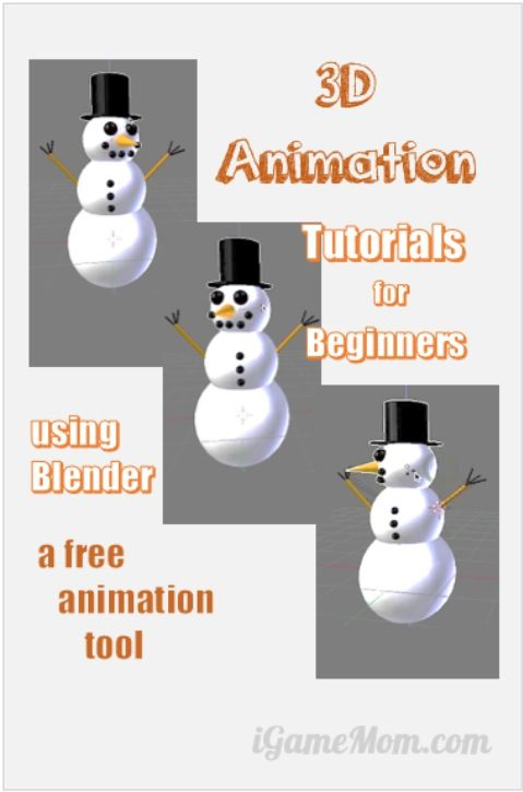 3D animation combines art, technology, and creativity, and imagination. It is a great outlet for kids who are artistic and techie. If you are not sure if you want to invest a lot into it, here are some good and easy tutorials for you to get a feel about it, using a free 3D animation tool Blender.