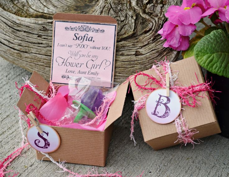 Ring POP ~ Will You Be My Flower Girl PINK Boxed Invite POP the Question Invitation Rustic Bridesmaid by AndOhSoCute on Etsy https://www.etsy.com/listing/273668024/ring-pop-will-you-be-my-flower-girl-pink