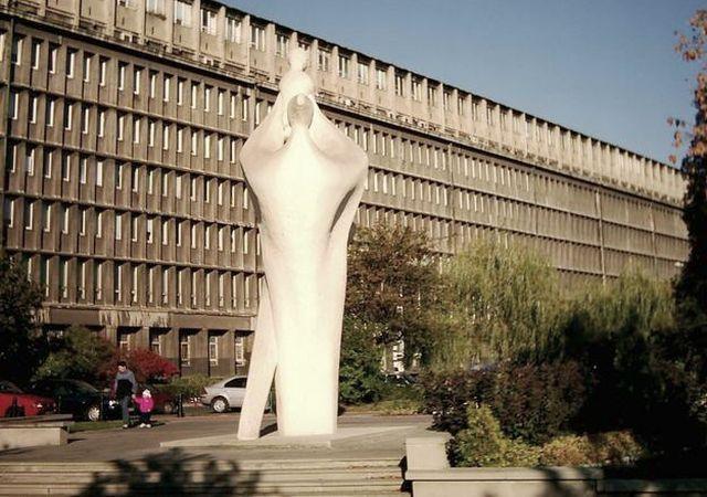 #Koszutka #rzeźba #Katowice #plac #grunwaldzki