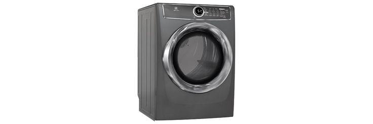 Electrolux Appliances Front Load Perfect Steam™ Gas Dryer with Instant Refresh and 9 cycles - 8.0. Cu. Ft. EFMG617STT