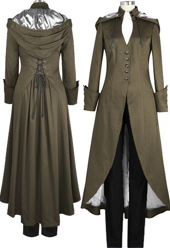 Victorian Coat --Chic Star design by Amber Middaugh