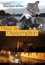 Fête de l'Assomption à Notre-Dame de Paris : pèlerinage fluvial et procession mariale: jeudi 14 août 2014