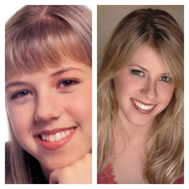 Celebrities then and now. Jodie Sweedin