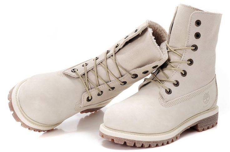 """Женские ботинкиHigh Timberland Teddy Fleece White (С МЕХОМ): продажа, цена в Одессе. ботильоны, ботинки женские от """"Интернет-магазин обуви"""" - 307250461"""