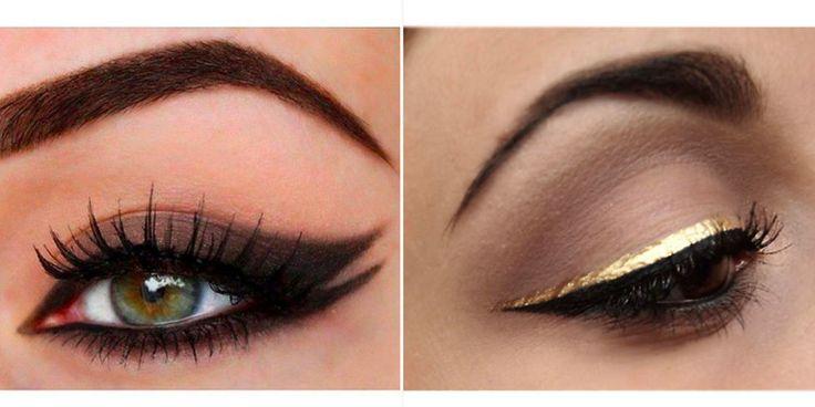 Doppio eyeliner: la nuova tendenza make up per gli occhi con la doppia riga