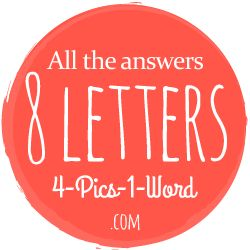 11 best 4 Pics 1 Word 8 Letters images on Pinterest
