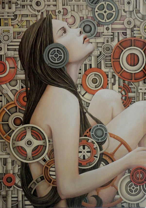 Iyan de Jesus (Leah Anne De Jesus), paintings - ego-alterego.com