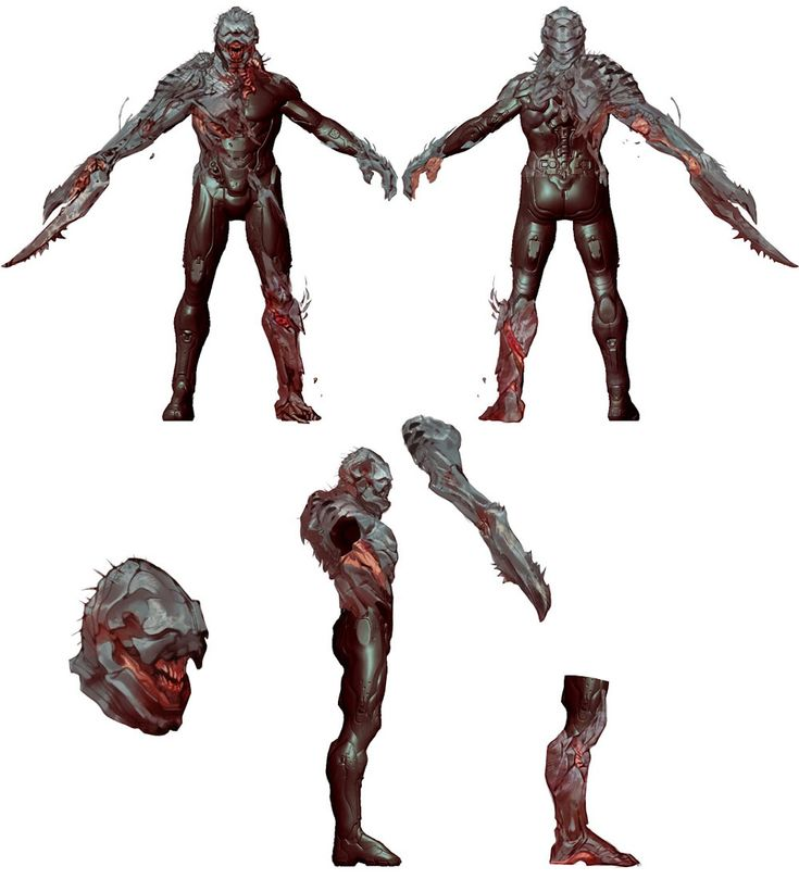 Halo 4 Art & Pictures,  Infection / Flood Armor