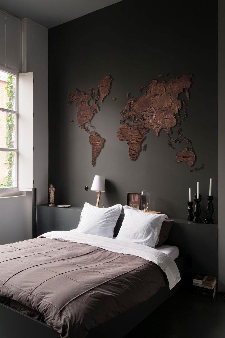 Wood Wall Art Holiday Decor World Map The Office Wall Art Etsy In 2020 World Map Wall Decor Room Decor Map Wall Decor