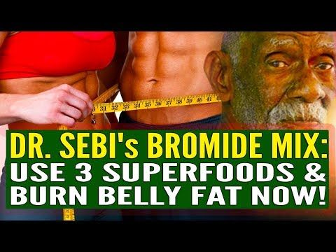 Herbs for weight loss THE DETOX WEIGHT LOSS SHAKE: Dr. Sebi's Bromide Mix - Use 3 Superfoods And You WILL Burn Belly Fat! - YouTube