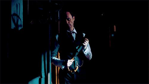 Mycroft and his umbrella