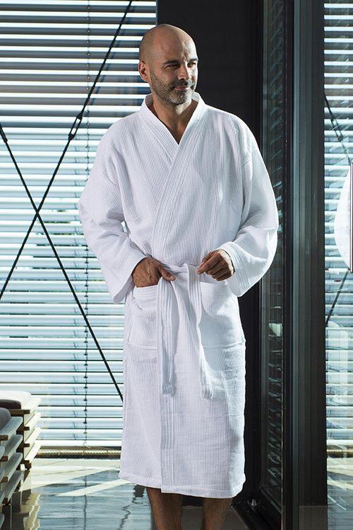 Halat baie Constance Towels by Jassz din 100% bumbac pique pieptănat #halate #baie #personalizate #promotionale #spa #hotel