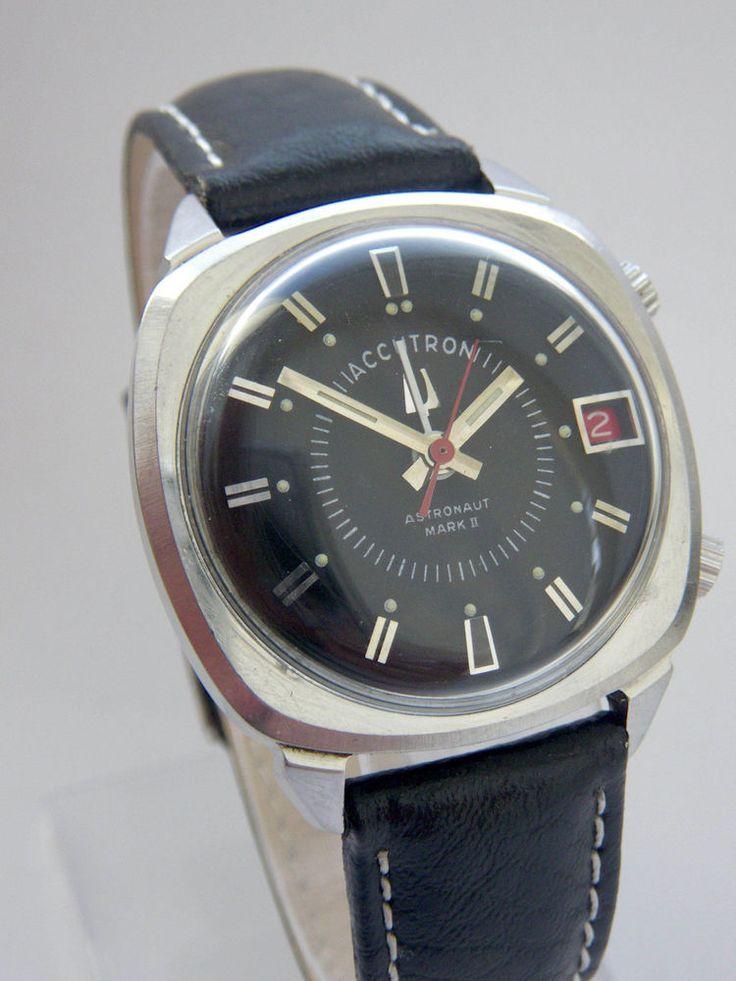 1976 Bulova Accutron Astronaut Mark II, Stimmgabeluhr, cal 2185 in Uhren & Schmuck, Armband- & Taschenuhren, Armbanduhren | eBay!