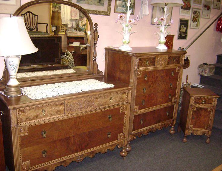 126 best Antique Bedroom Sets images on Pinterest | Bedroom suites ...