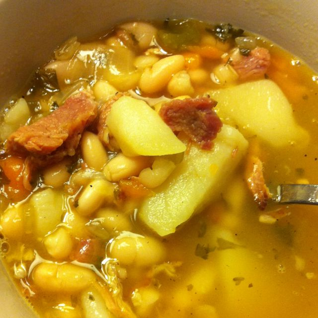 soup the best bean and ham soup white bean and ham soup best soup is ...