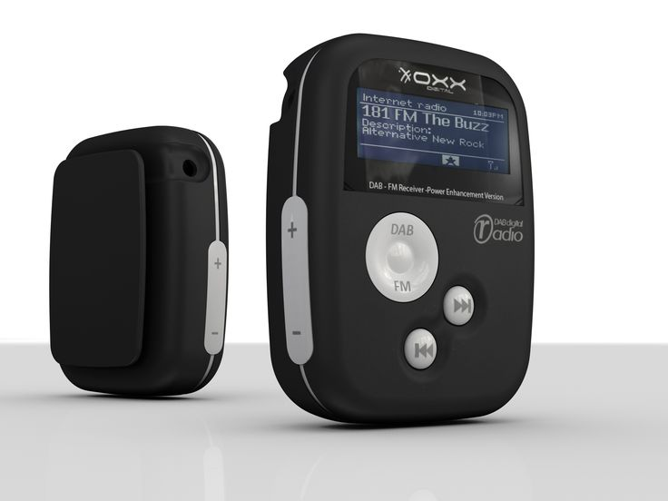 Oxx Pocket DAB Radios