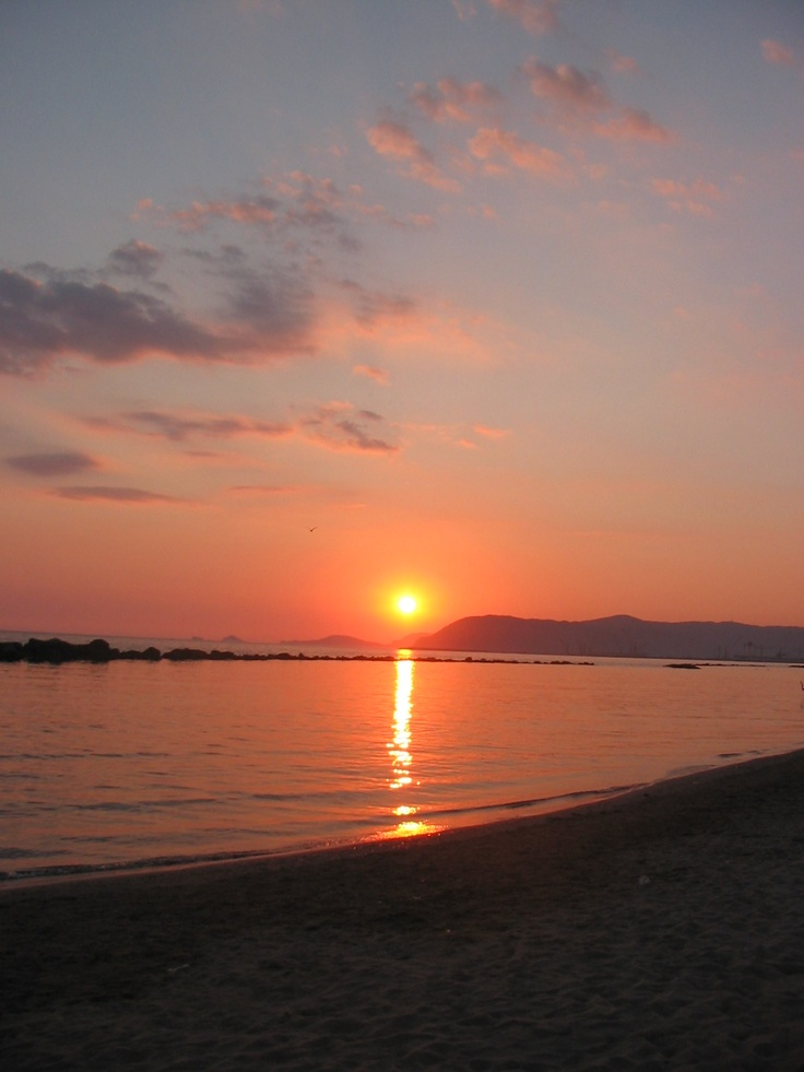 Marina di Massa, sunset