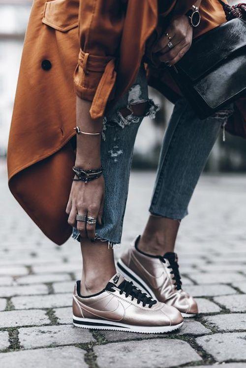 new concept 9254a 42101 Ideas de cómo combinar las zapatillas Nike Cortez para arrasar con tus looks