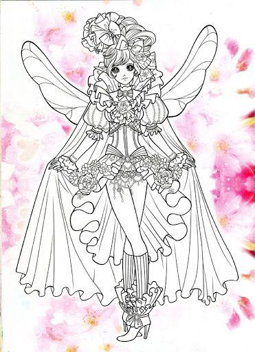 286 Best Korean Anime Girl Coloring Book Images On Pinterest