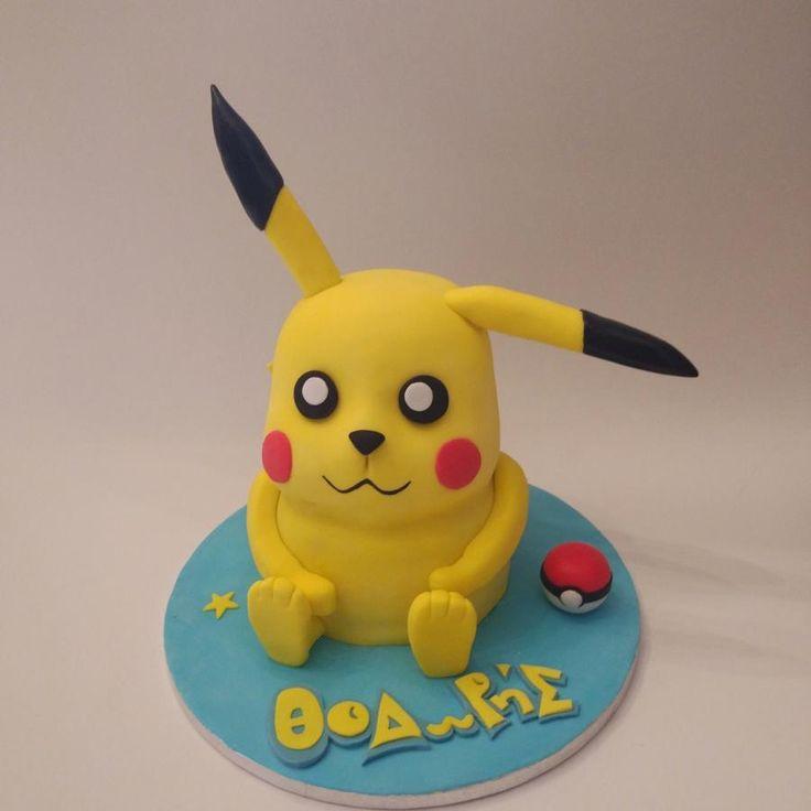 3D Pikachu - Cake by nef_cake_deco