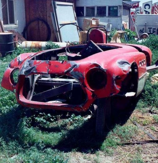 FORGOTTEN OLD RACE CARS & HOT RODS