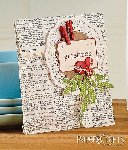 Holiday Cards & More, Vol. 8 Blog Hop! Newsworthy Holiday Pocket by Jennifer S. Gallacher