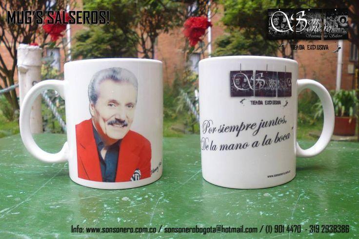 Mug Salsero: Henry Fiol Valor: $10.000 Contacto: Web: www.tupauta.net Email: tupautacolombia@hotmail.com... Ver más