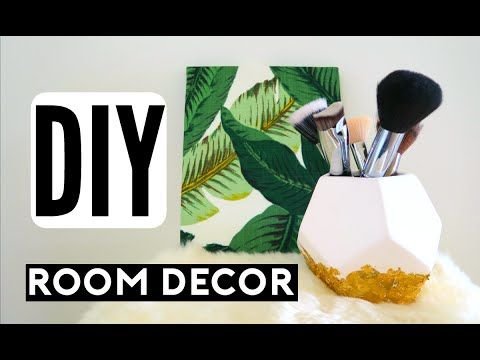 DIY Room Decor! Spice Up Your Room For Spring! Cheap & Simple Room Decorations! - YouTube
