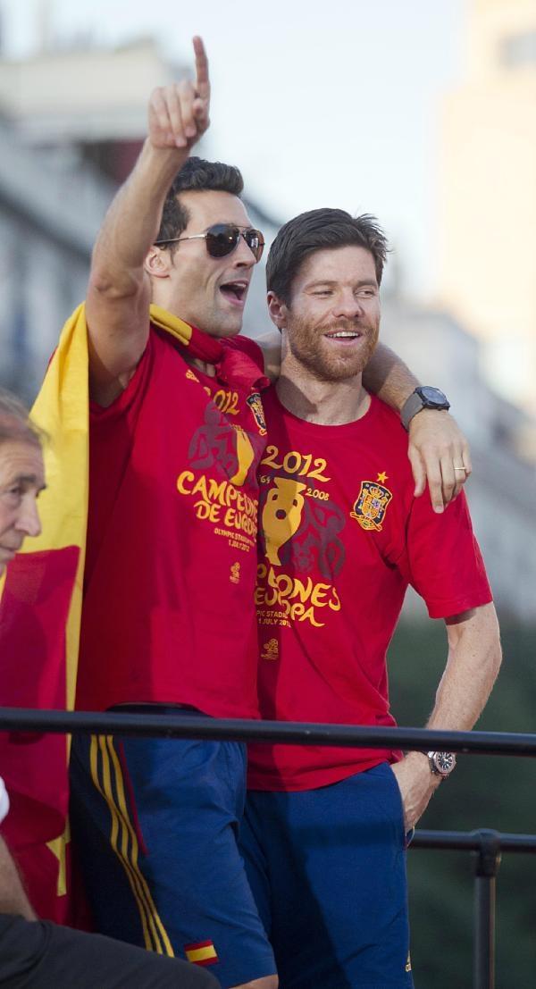 Arbeloa & Xabi Alonso