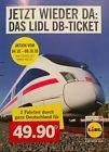 #lastminute  Lidl DB Bahn Ticket Fahrkarten für 2 Fahrten IC ICE Flex Bahnticket BLITZVERSAND #belgium