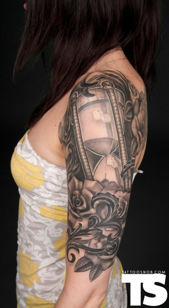 100 best images about on pinterest hourglass tattoo for Random tattoo sleeve