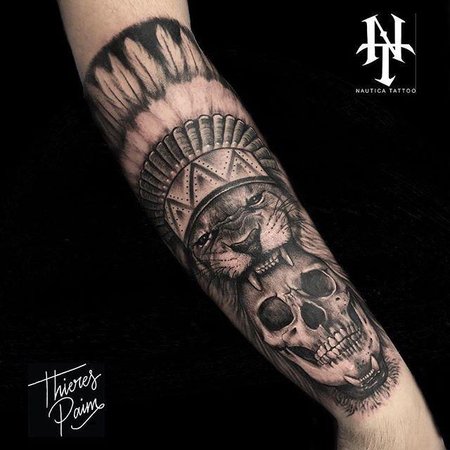Tatuagem realizada pelo tatuador @thierespaimtattoo 💥🎨 ➡ Unidade : Santos | São Paulo | Roma . Contatos: 🔹telefone: (11) 45080688 🔹whatsapp: (11) 942405032 🔹email: nauticatattoosp@hotmail.com