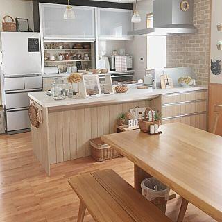 カウンターキッチンの人気の写真(RoomNo.1862535)