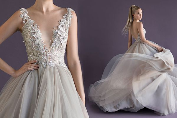 Gown by Paolo Sebastian