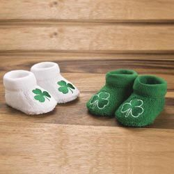 Embroidered Baby Booties