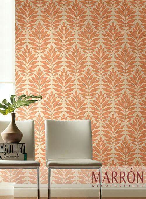 Papel Tapiz #Wallpaper #Marron #Hermosillo #PapelTapiz #Diseño #Interiorismo