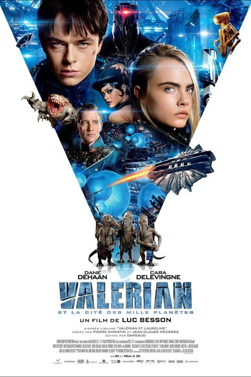 Valerian and the City of a Thousand Planets Full Movie Online 2017