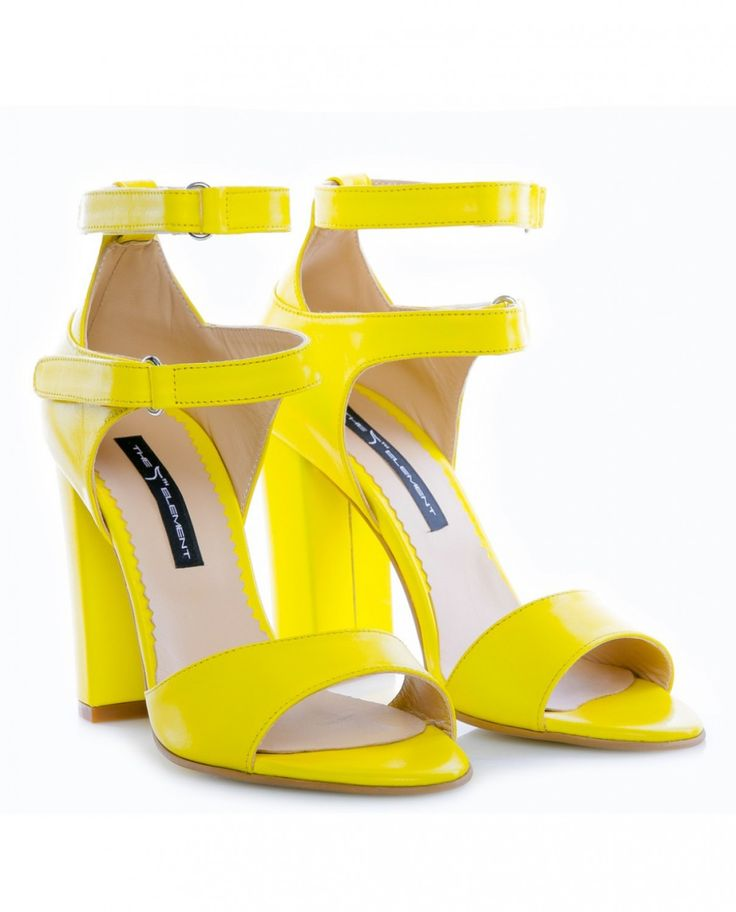 The 5th Element Sandale Strap Zone Yellow