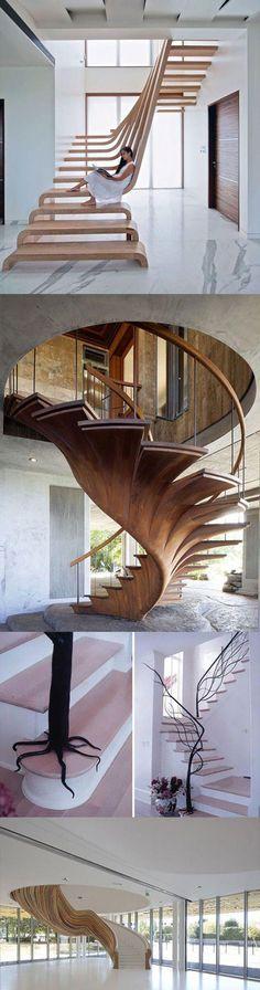 Escada fantástica