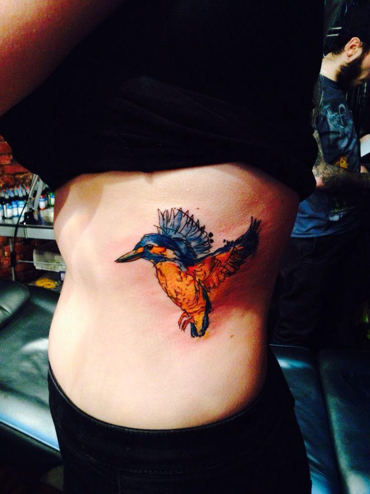 Kingfisher watercolour tattoo Tattoo ideen, Vintage
