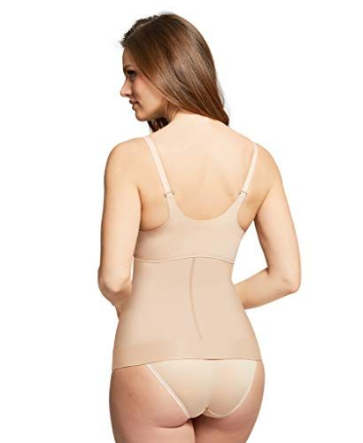 b244cc21a42 HookedUp Women's Waist Clincher Shapewear Firm Control Slimming Body Shaper  Tummy Control High-Waist Shapewear