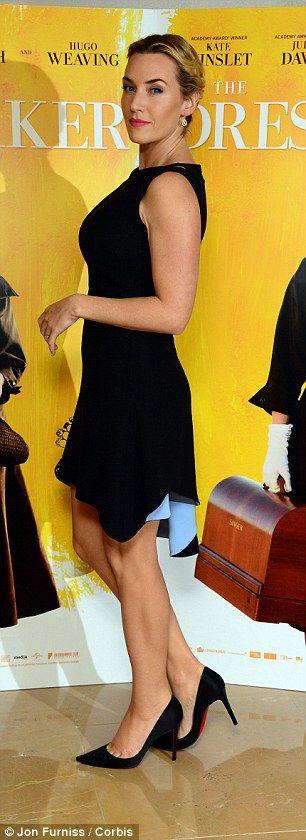 "Kate Winslet in Christian Dior at ""The Dressmaker"" London Premiere"