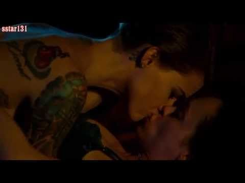 Christina Ricci and Ruby Rose Lesbian Scene from Around the block 2013 - YouTube