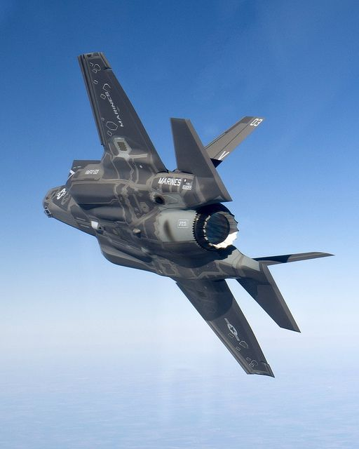 F-35B in Flight  In preparation for delivery, F-35B production aircraft BF-8 flies its first government flight on Dec. 16, 2011.