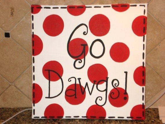 Nothin' finer in the land :)Black Letters, Football Seasons, Doors Decor, Georgia Canvas Bulldogs, Dawgs, Cute Ideas, Black Glitter, Art Uga, Uga Decor