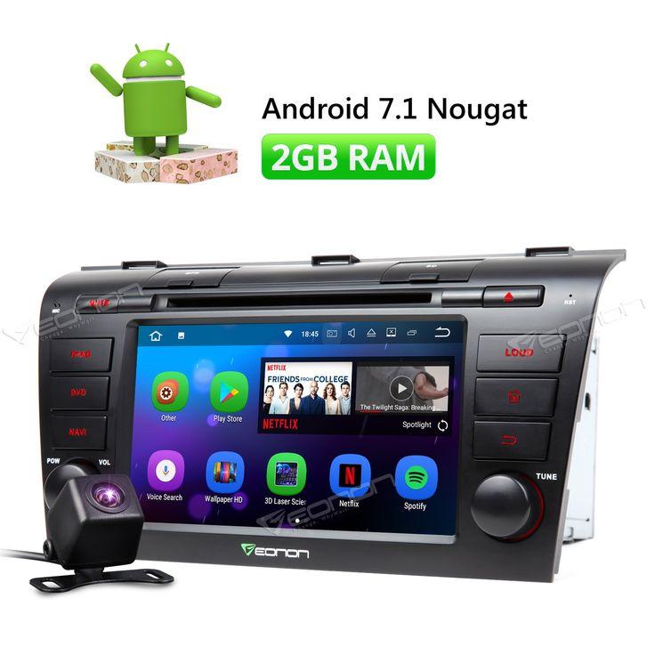 "Buy online US $305.00  Camera & Eonon Android 7.1 7"" HD Car DVD Player Stereo GPS Navigation FM Radio for Mazda 3 2004 2005 2006 2007 2008 2009  #Camera #Eonon #Android #Player #Stereo #Navigation #Radio #Mazda  #BlackFriday"